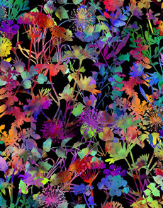 14623 Urban Jungle Floral $28 per mt