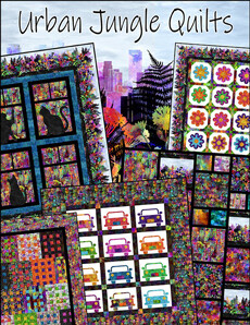 41097 Urban Jungle Quilts book $33