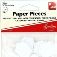 32479 Hexagon Papers half inch $8.50