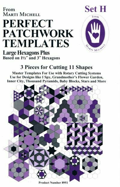 32486 Perfect Patchwork Templates Set H $38.jpg