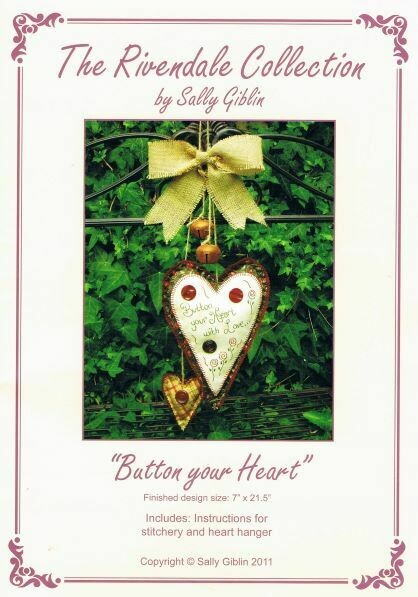48027 Button your Heart pattern $13.20