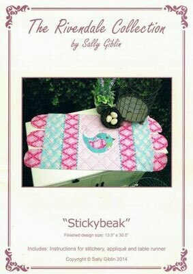 48022 Stickybeak table runner pattern $13.20
