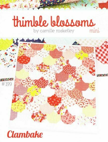 42554 Mini Clambake Quilt Pattern$16