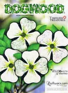 43755 Dogwood Placemats Pattern & Paters $59.30