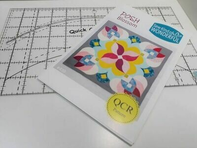 QCR Ruler & Posh Blossom combo $57.50