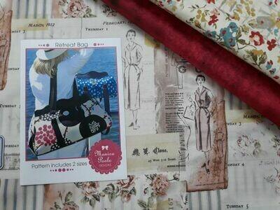 SBAQ4.4 Retreat Bag Pattern, Fabric & Hardware Kit $151.73