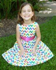 46355 Little Princess Dress Pattern $18