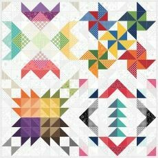 95414 Seasons Quilt Pattern & Fabric kit $176.70