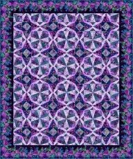 95424 Facets quilt fabric kit $420