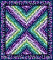 95422 X Trip Purple Quilt Fabric Kit $358.40