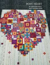 42809 Boho Heart Quilt Booklet $26