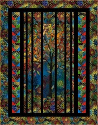 Light in the Forest quilt pattern FREE download