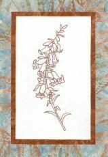 44733 Floral Emblem Stitchery Common Heath $20