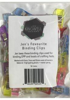 32532 Jen Kingwell Binding Clips $22