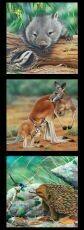 16968 Wildlife Art panel DV3177 $12