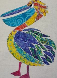 40144 Paddy the Pelican Applique Pattern $15