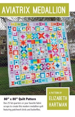 95355 Aviatrix Medallion Quilt Pattern & Fabric Kit $242.18