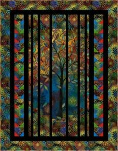 95439 Light in the Forest quilt fabric kit $161.20