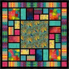 95444 Showcase Quilt fabric kit$195.20