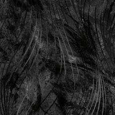 14584 Maywood Beautiful Backing Swirls Black $35 per mt