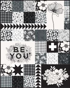 FP Illustrated Squares quilt pattern FREE download