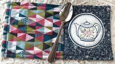 45820 Teapot Mug Rug pattern $10