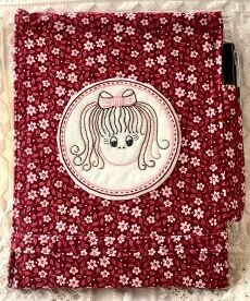 45824 A Girly Notebook Cover pattern $10