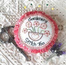 45830 Gardeners Stitch Too Pin cushion pattern $10