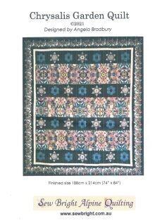 49087 Chrysalis Garden Quilt Pattern $18