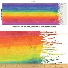 15558 Color Theory ROYGBIV $36 per mt