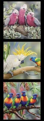 16975 Wildlife Art Panel DV3178 $12 each