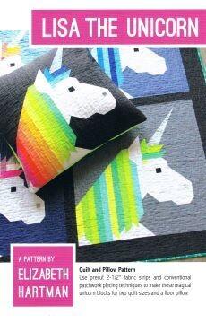 45572 Lisa the Unicorn Quilt Pattern $27