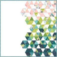 13361 Spring in Paris Quilt Pattern & Fabric kit $235