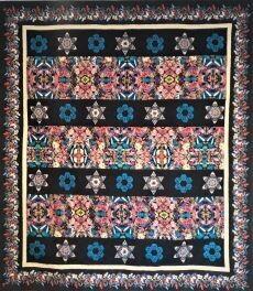95447 Chrysalis Garden quilt Pattern & Fabric Kit $268.90