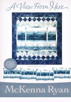 95460 A View from Here Quilt Pattern & Fabric Kit $142