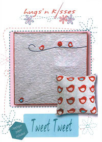 42132 Tweet Tweet Quilt & Cushion Pattern $19