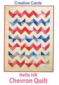 46204 Nellie Hill Chevron Quilt Creative Card $5