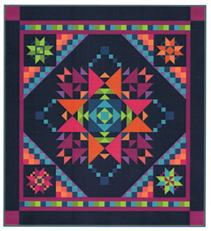 95300 Amish with a Twist 3 BOM Quilt Pattern & Fabric kit