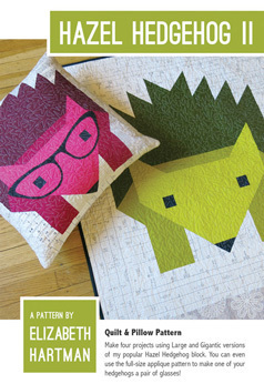 45554 Hazel Hedgehog II Quilt Pattern $27