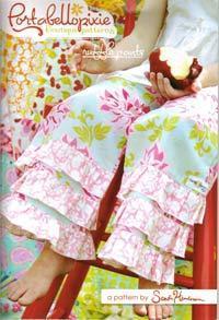 43052 Portabellopixie Ruffle Pants Pattern $22