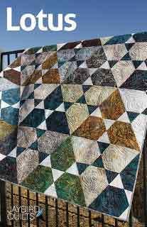 43557 Lotus Quilt Pattern $21