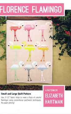 45564 Florence Flamingo Quilt Pattern $27