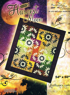 95309 Harvest Moon Quilt Pattern, Papers & Fabric Kit $257.54