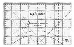 32426 Mini QCR Ruler $36