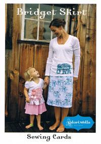 47043 Bridget Skirt Sewing Card $6.90