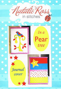 44517 In a pear tree Journal Cover Pattern $6.60