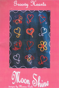40067 Groovy Hearts Quilt Pattern