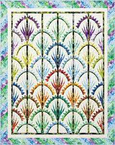43752 Clamshell Quilt Pattern  Papers $97.95