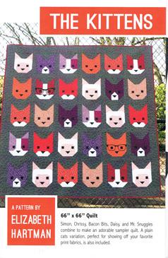45558 Kittens Quilt Pattern $39.60