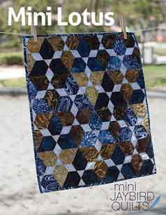 43553 Mini Lotus Quilt Pattern $13.95